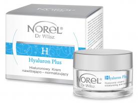 Norel Hialuronowy Krem Nawilżająco - Normalizujący Hyaluron Plus, 50 ml