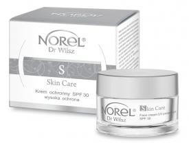 Norel Krem Półtłusty Ochronny SPF 30+ Skin Care, 50 ml