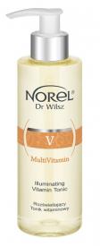 Norel Rozświetlający Tonik Witaminowy Multivitamin, 200 ml