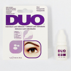 Klej do rzęs - DUO Eyelash Adhesive Clear Individual 7g