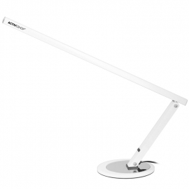 Lampa Na Biurko Slim 20W Biała #1