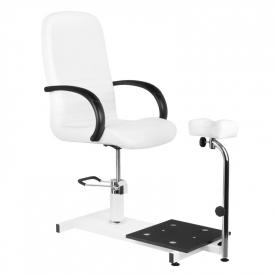 Fotel do pedicure hydrauliczny Spa 100 Biały