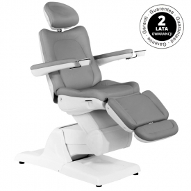 Fotel Kosmetyczny Elektryczny Azzurro 870 Szary
