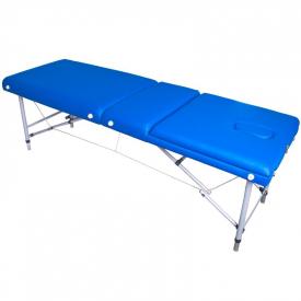 Stół Składany Do Masażu Komfort ALU-003 Blue