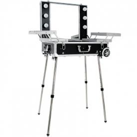 Kufer Kosmetyczny Glamour 9606 Czarny ( Przenośne Stanowisko) #5