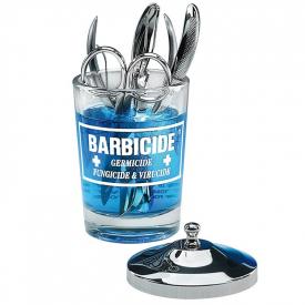 Pojemnik do dezynfekcji narzędzi szklany Barbicide, 120 ml