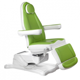 Elektryczny fotel kosmetyczny Mazaro BR-6672B Ziel