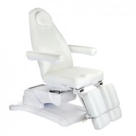 Elektryczny fotel kosmetyczny Mazaro BR-6672C Biał #6