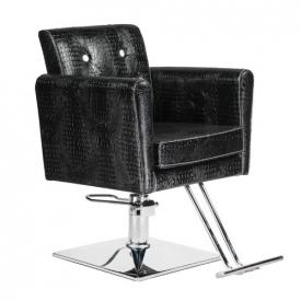 Fotel fryzjerski Lorenzo czarny BM-291 #4