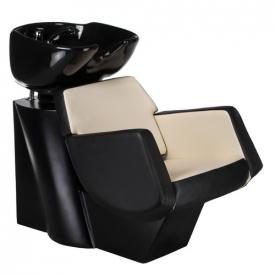 Myjnia fryzjerska NICO czarno-kremowa BD-7821