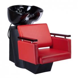 Myjnia fryzjerska MILO czerwona BD-7825