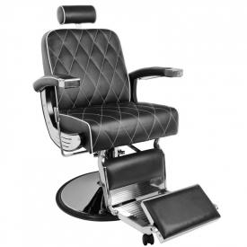 Gabbiano Fotel Barberski Imperial Czarny