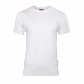 Koszulka Elastan Męska Biała, Rozmiar L