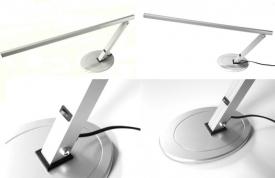 Lampa Manicure Na Biurko Aluminium Lux Led