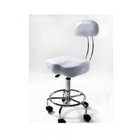 Krzesło Chrom Z Oparciem