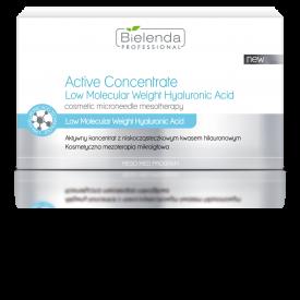 Bielenda Aktywny koncentrat z niskocząsteczkowym kwasem hialuronowym, 10 x 3ml
