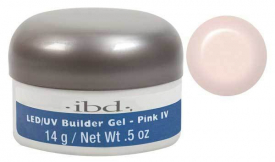 IBD LED/UV BUILDER GEL, 14G PINK