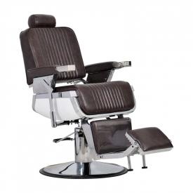 Fotel Fryzjerski Barber Brąz