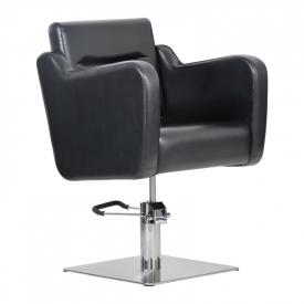 Fotel Fryzjerski Lux Czarny