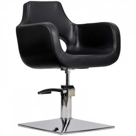 Fotel Fryzjerski Mediolan Czarny