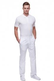 Spodnie M7612 PG Białe #2