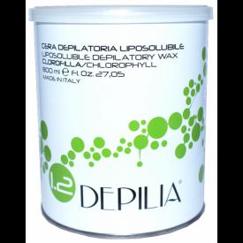 Depilia Delikatny Wosk Clorofilla, 800ml