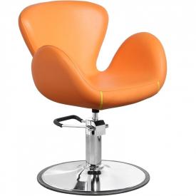Gabbiano Fotel Fryzjerski Amsterdam Pomarańczowy