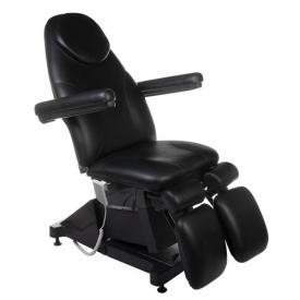 Elektryczny fotel kosmetyczny AMALFI BT-156 Czarny