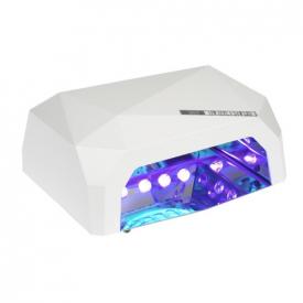 Lampa Led 36W Diamond Do Paznokci BS-557 Biała