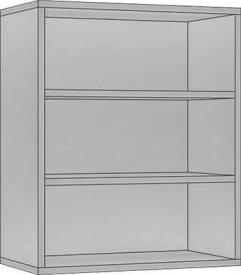 System Modułowy SGP 60, Płyta Połysk, szerokość 60 cm
