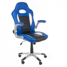Fotel Gamingowy Racer Corpocomfort BX-6923 Niebies #1