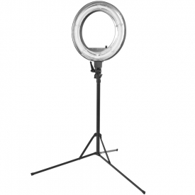"Lampa Pierścieniowa Ring Light 18"" 55W Fluorescent + Statyw"