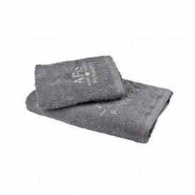 Apis Ręcznik Frotte Z Logo 50x90 – Szary