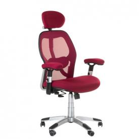 Fotel ergonomiczny CorpoComfort BX-4144 Czerwony #1