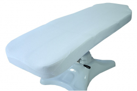 Prześcieradło Frotte Na Fotel Biały 60x190cm