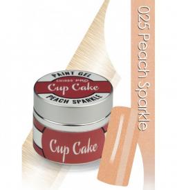 CHIODO PRO Cup Cake żel kolorowy, 5ml NR 025 - Peach Sparkle