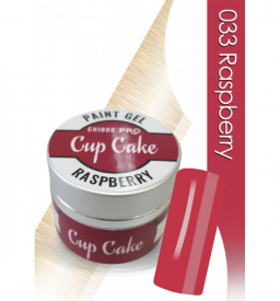 CHIODO PRO Cup Cake żel kolorowy, 5ml NR 033 - Raspberry