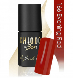 CHIODO PRO Soft lakier hybrydowy NR 166 - Evening Red