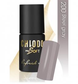 CHIODO PRO Soft lakier hybrydowy NR 200 - Steel Gray