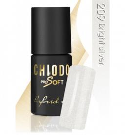 CHIODO PRO Soft lakier hybrydowy NR 209 - Bright Silver