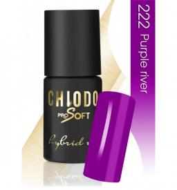 CHIODO PRO Soft lakier hybrydowy NR 222 - Purple River