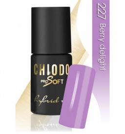 CHIODO PRO Soft lakier hybrydowy NR 227 - Berry Delight