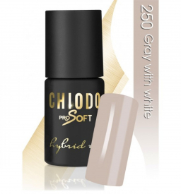 CHIODO PRO Soft lakier hybrydowy NR 250 - Gray with White