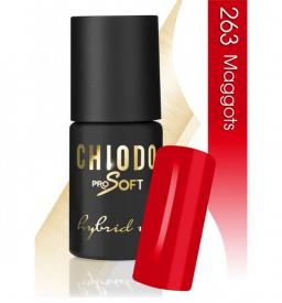 CHIODO PRO Soft lakier hybrydowy NR 263 - Maggots