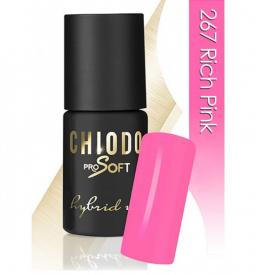 CHIODO PRO Soft lakier hybrydowy NR 267 - Rich Pink