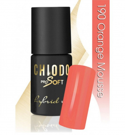 CHIODO PRO Soft lakier hybrydowy NR 190 - Orange Mousse