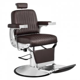 Gabbiano Fotel Barberski Continental Brązowy