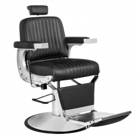 Gabbiano Fotel Barberski Continental Czarny