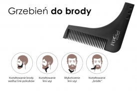 Grzebień Do Brody Fox Beard Barber Expert