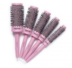 Zestaw 5 Szczotek C.Ramic Pink (17, 23, 28, 32, 43mm)